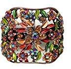 B.ella Crystal Flower Hair Holder Barrette YY86900-5autumn glory
