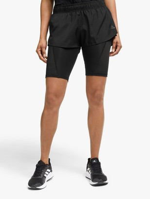 adidas Two-in-One Ultra Running Shorts, Black