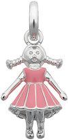 Links of London Sterling Silver & Enamel Girl Charm