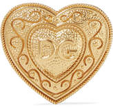 Dolce & Gabbana Gold-plated Brooch - one size