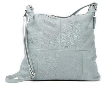 Day & Mood Simone Tooled Leather Hobo Bag