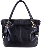 Yafeige Women's Genuine soft Leather Tote Shoulder Bag CrossBody Satchel Purse Handbag