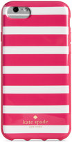 Kate Spade Fairmount Square Stripe iPhone 6/7 Case