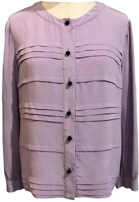 Prada Purple Silk Top for Women Vintage