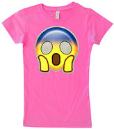 Micro Me Hot Pink Surprise Fitted Tee - Infant Toddler & Girls