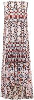 Peter Pilotto Pink Silk Jacquard Sleeveless Dress