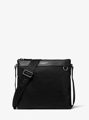 Michael Kors Brooklyn Large Nylon Crossbody Bag - Black