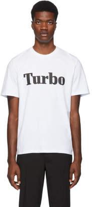 MSGM White Turbo T-Shirt