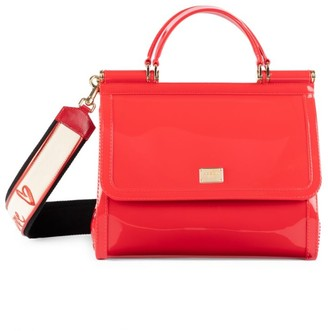 Dolce & Gabbana Sicily PVC Top Handle Bag