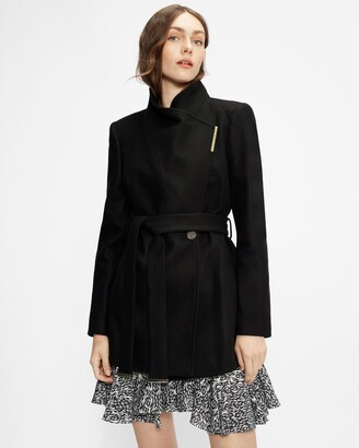 Ted Baker Wool Wrap Short Coat