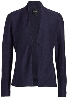 Nic+Zoe, Petites Petite Essence Woven-Linen Blazer