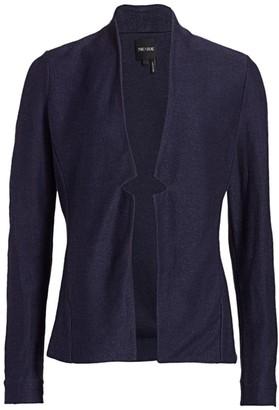 Nic+Zoe Petite Essence Woven-Linen Blazer