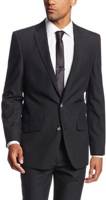 Haggar Men's Twill Slim Fit 2-Button Side Vent Suit Separate Coat