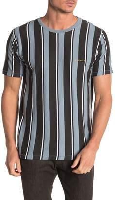Barney Cools Stripe Print T-Shirt