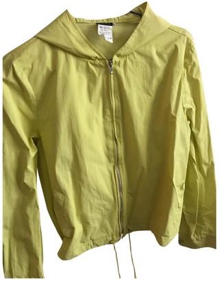Michael Kors Yellow Cotton Jacket for Women