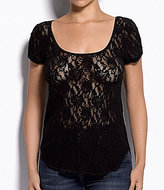 Hanky Panky Signature Lace High-Low Top