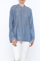 Vince Chambray Loose Top