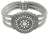 John Hardy Dot Nuansa Silver Triple Row Bracelet