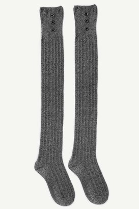 Ardene Ribbed Over-the-Knee Socks