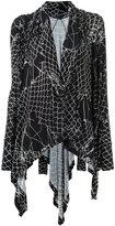 Uma | Raquel Davidowicz - printed tunic - women - Spandex/Elastane/Viscose - XPP