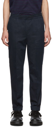 Neil Barrett Navy Travel Trousers