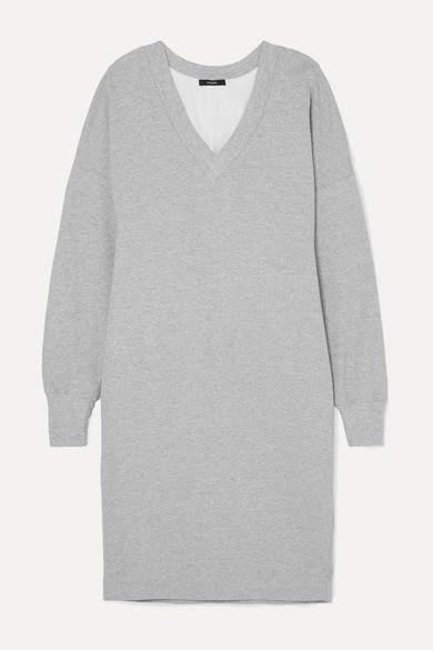 Bassike Organic Cotton-jersey Dress - Gray
