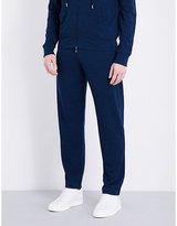 Canali Marl-effect Fleece Wool Tracksuit Trousers