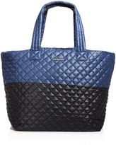 MZ Wallace Oxford Metro Color Block Large Tote