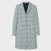 Paul Smith Women's Cream Floral-Jacquard Epsom Coat