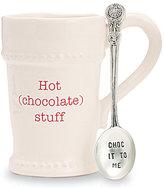 Mud Pie Holiday Hot Stuff Mug with Spoon