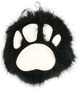 Stella McCartney faux fur paw charm - women - Modacrylic - One Size