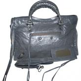 Balenciaga City leather satchel