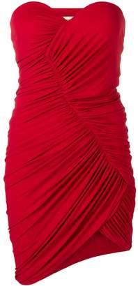 Alexandre Vauthier strapless ruched mini dress