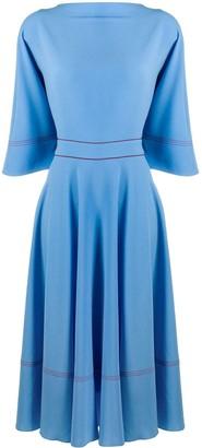 Roksanda Dara rear bow dress