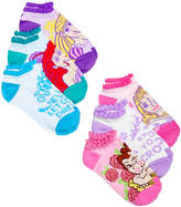 Disney Princess No Show Socks, 6-Pack, Little Girls (4-6X) and Big Girls (7-16)