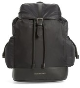 Burberry Infant Watson Diaper Backpack - Black