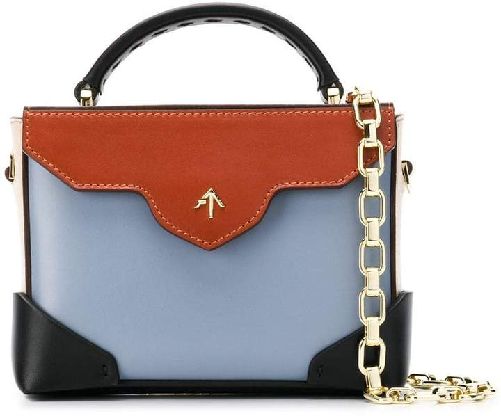 Atelier Manu micro Bold top handle bag