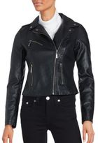 Joujou Asymmetric Zip Moto Jacket