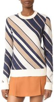 Carven Stripe Sweater Multi