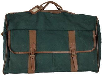 Polo Ralph Lauren Green Leather Bags