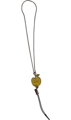 Christian Dior Yellow Metal Bag charms