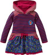 Oilily Pink & Blue Stripe Tamtam Dress - Infant Toddler & Girls