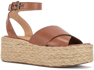 Seychelles Much Publicized Leather Wedge Sandal