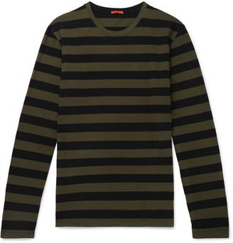 Barena Striped Cotton-Jersey T-Shirt