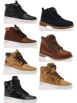 Rock & Religion New Mens Laced Up Rubbered Sole Casual Shoes Boots Size 7-11