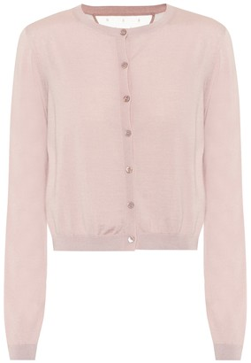 RED Valentino Wool, silk and cashmere cardigan