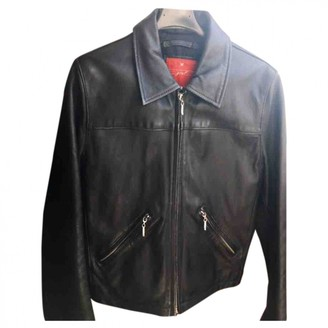 Chevignon Black Leather Jacket for Women