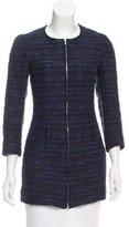 Nina Ricci Collarless Tweed Jacket