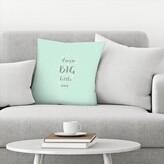 "Dream Big Little One Throw Pillow East Urban Home Size: 16"" x 16"""