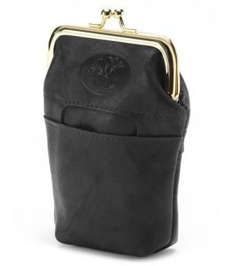 Buxton Heiress Pik-Me-Up Leather Framed Card Case